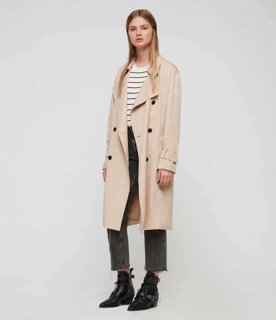 Women's Brooke Trench Coat (copper) - Image 2