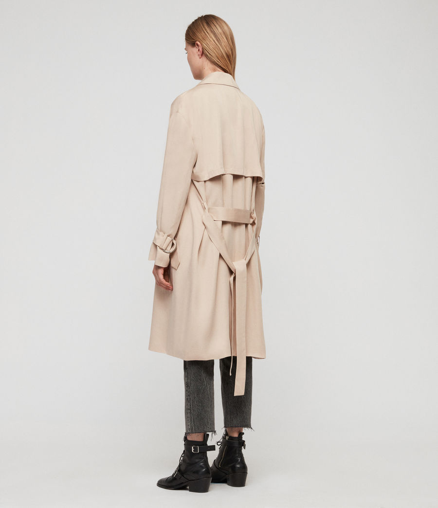 Women's Brooke Trench Coat (copper) - Image 4