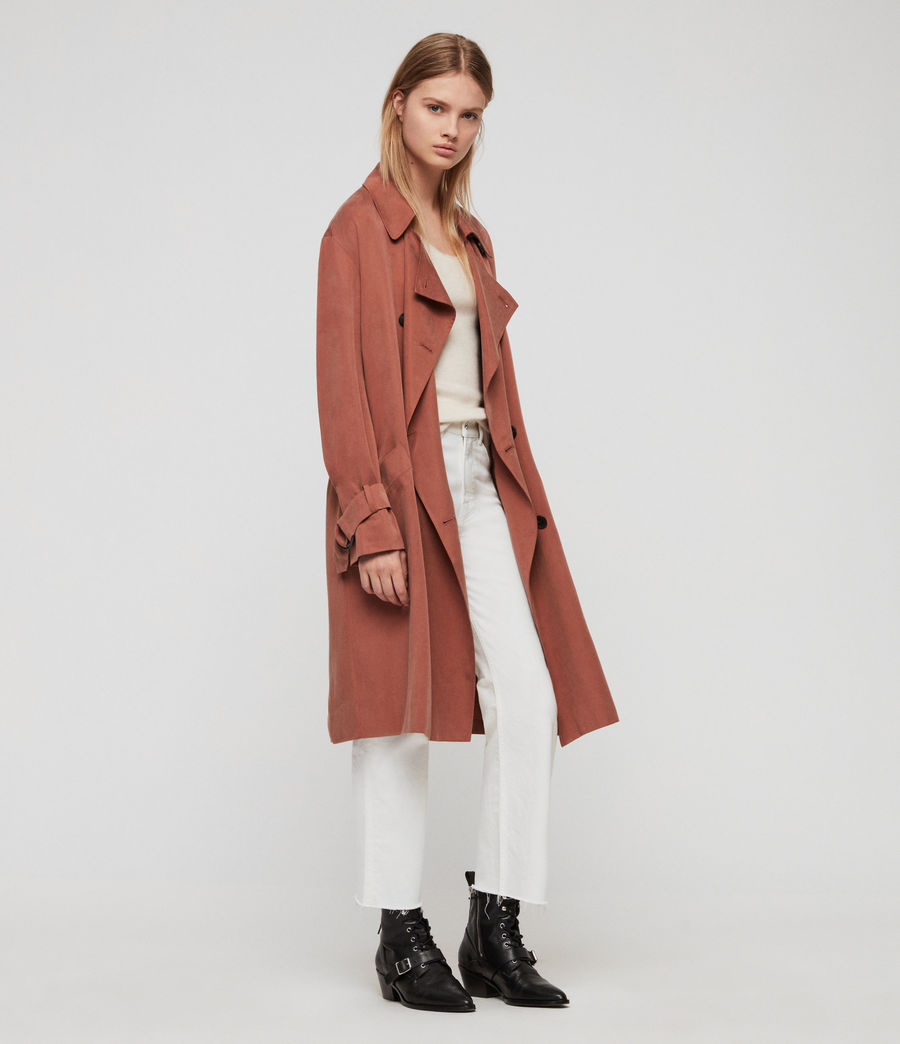 Femmes Trench Brooke (copper) - Image 1
