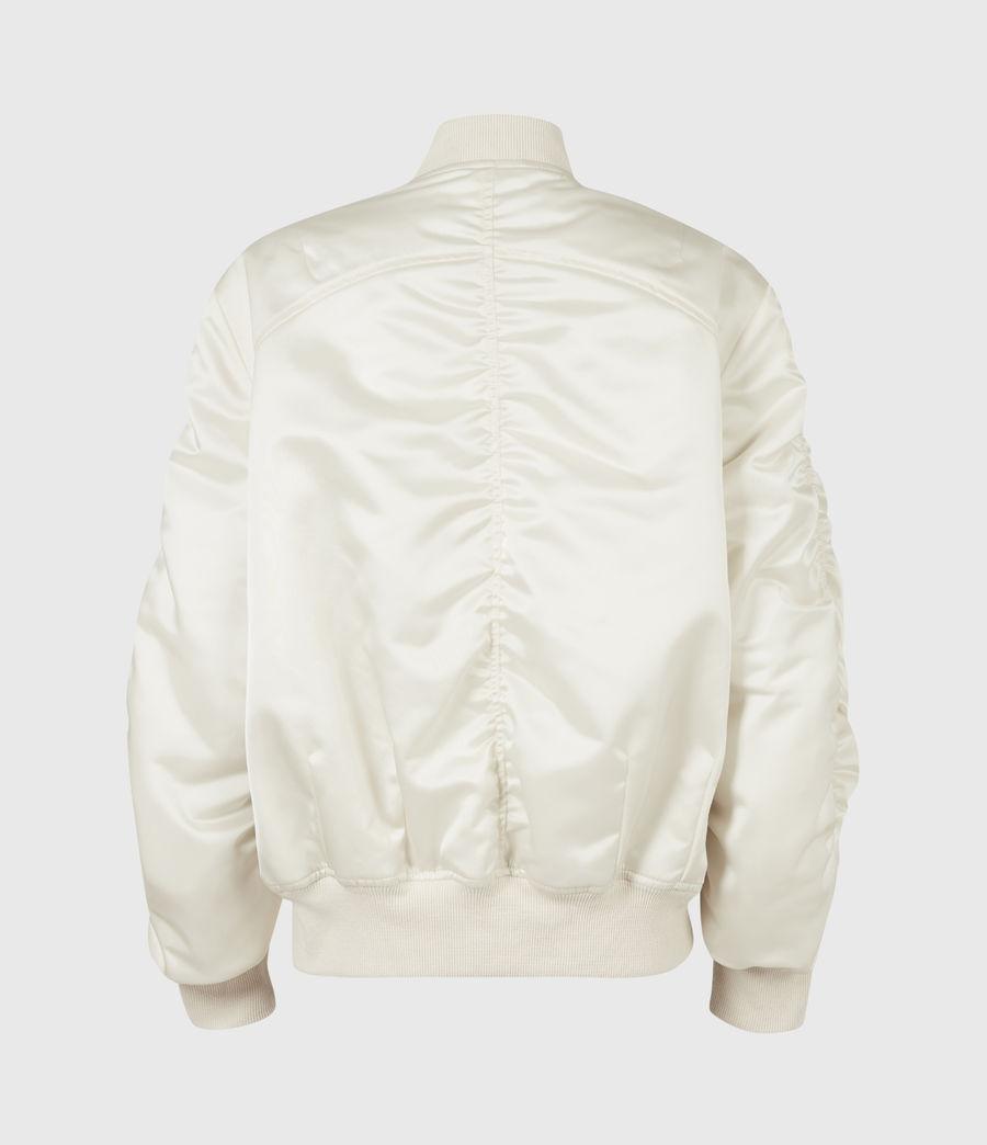 Women's Robin Bomber Jacket (ivory_white) - Image 3