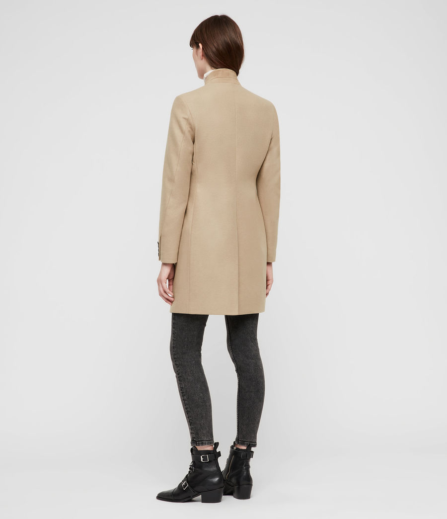 Women's Lyla Coat (light_tan_brown) - Image 6