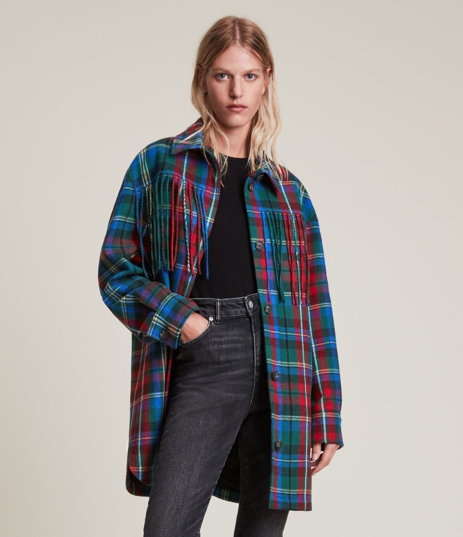 Damen Sofina Jacket (blue_red) - Image 3