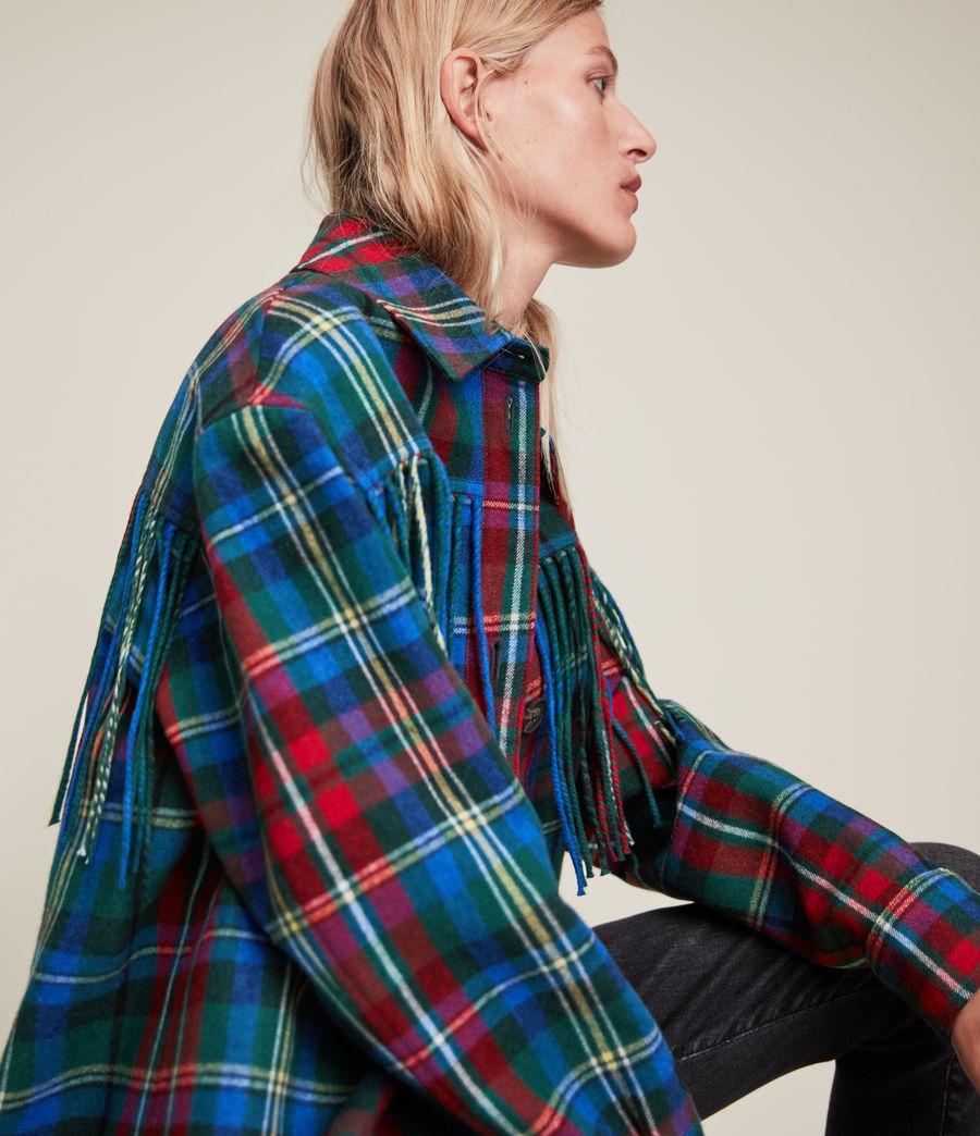 Damen Sofina Jacket (blue_red) - Image 4