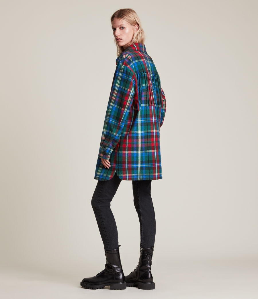 Damen Sofina Jacket (blue_red) - Image 6