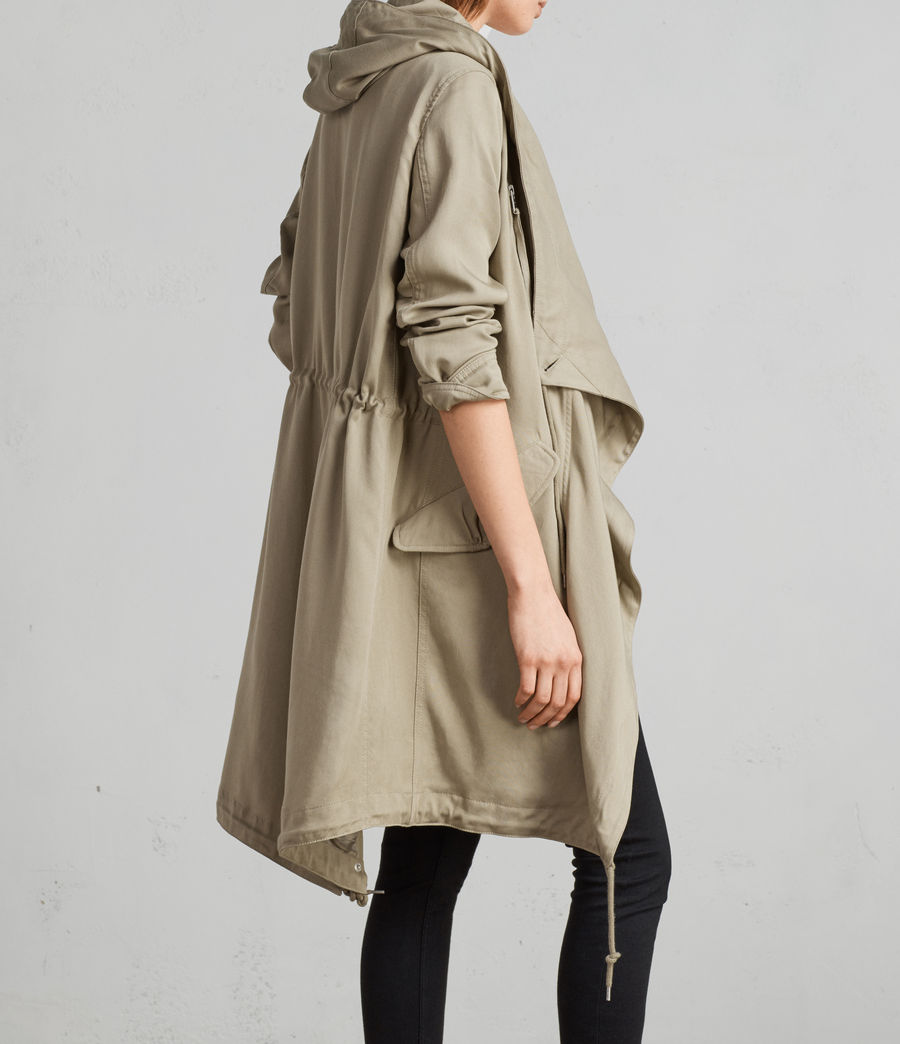 Damen Portere Parka (dusty_green) - Image 1