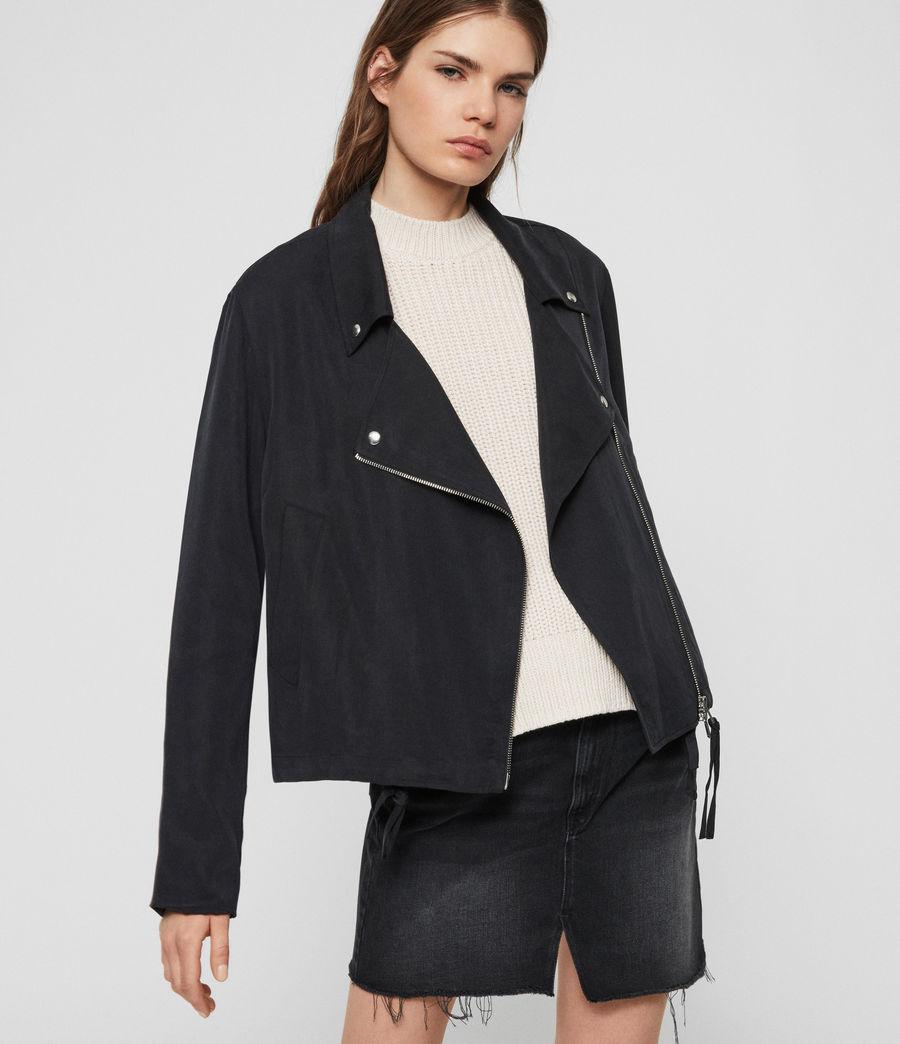 Women's Macey Jacket (black) - Image 2