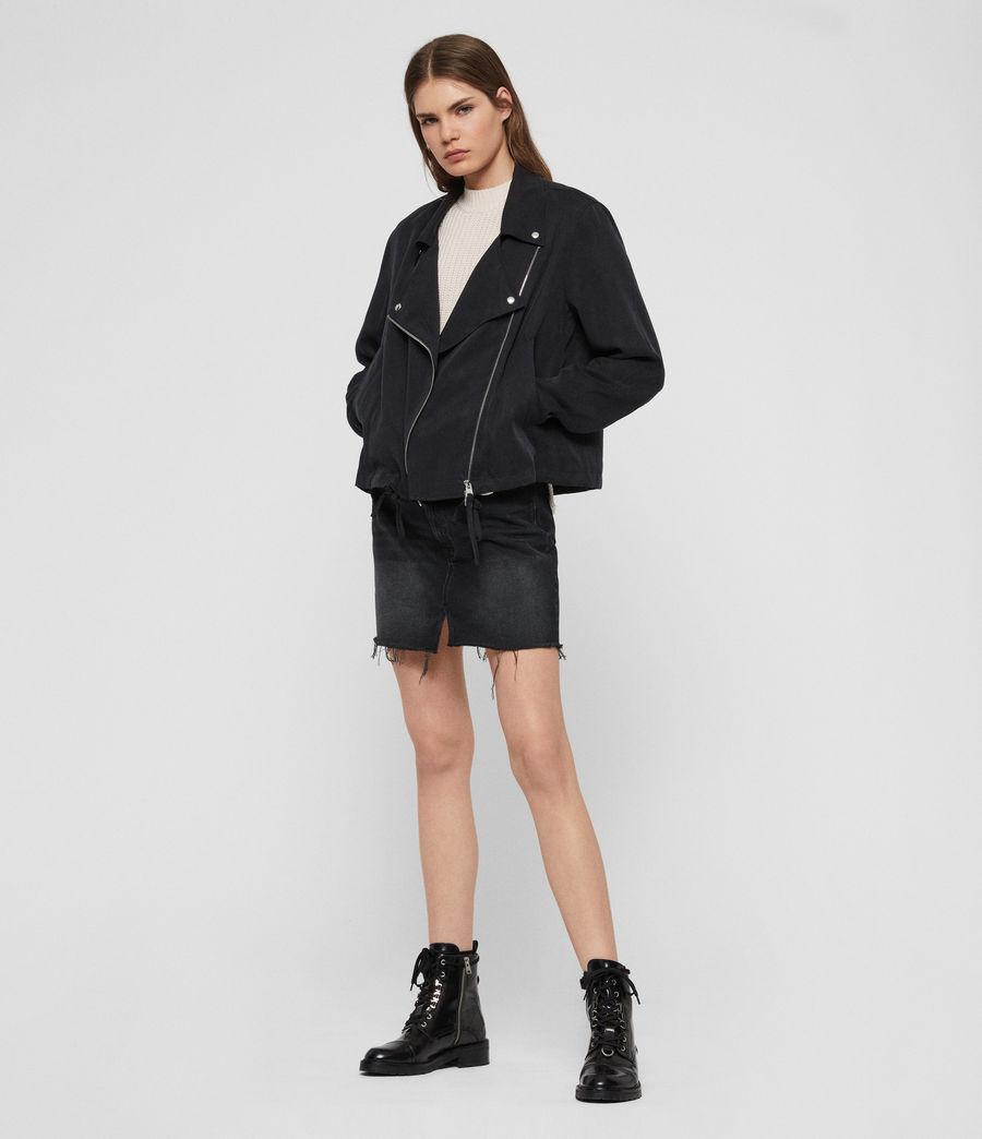 Women's Macey Jacket (black) - Image 3