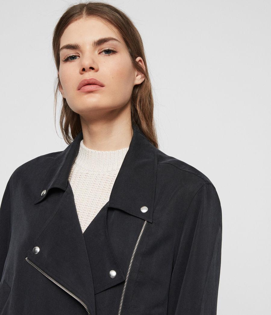 Women's Macey Jacket (black) - Image 4