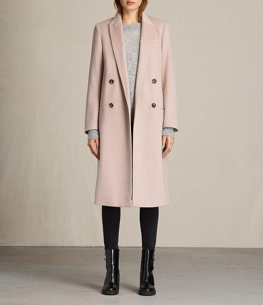Damen April Mantel (dusty_pink) - Image 1