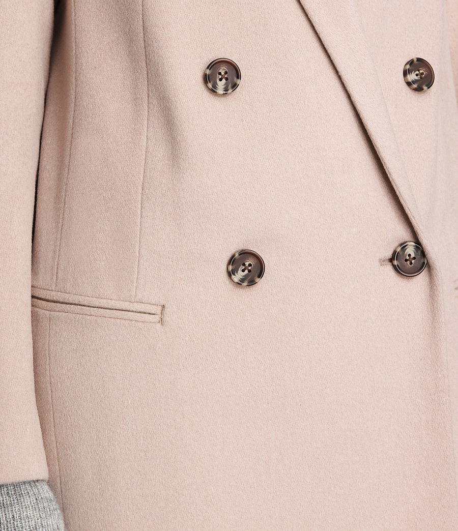 Damen April Mantel (dusty_pink) - Image 5