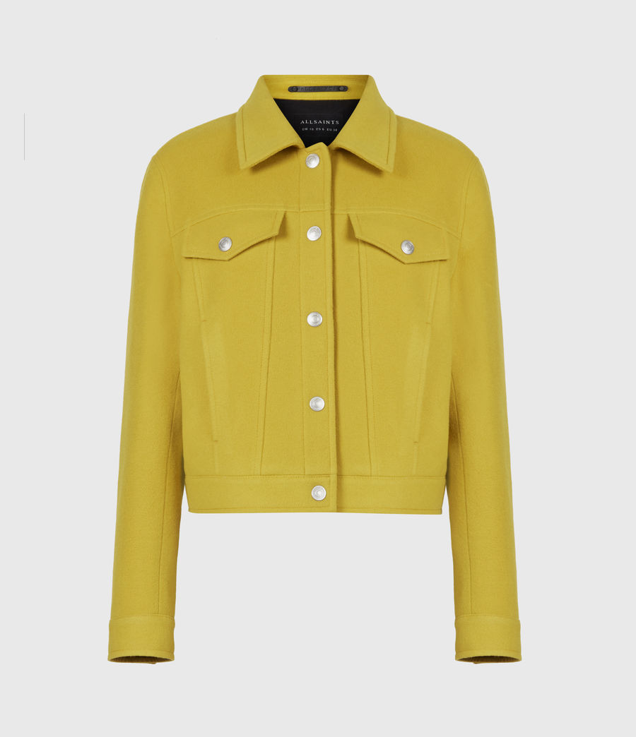 Women's Acey Jacket (chartreuse_green) - Image 2