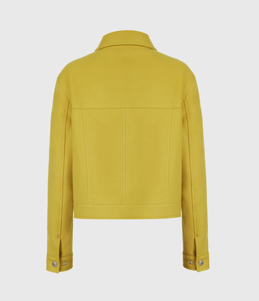 Women's Acey Jacket (chartreuse_green) - Image 3
