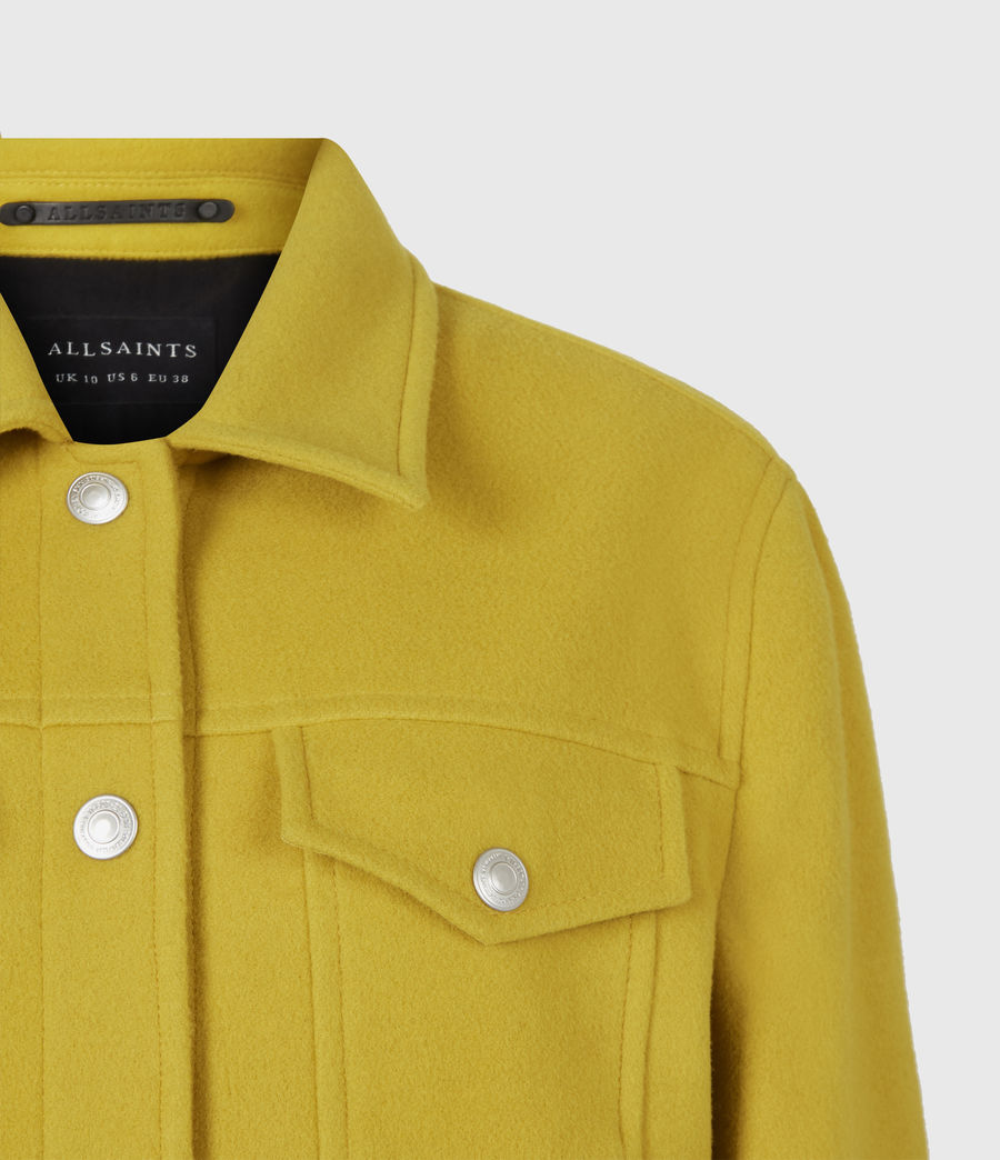 Women's Acey Jacket (chartreuse_green) - Image 5