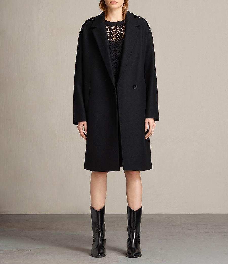 Donne Cappotto Ada Laced (black) - Image 1
