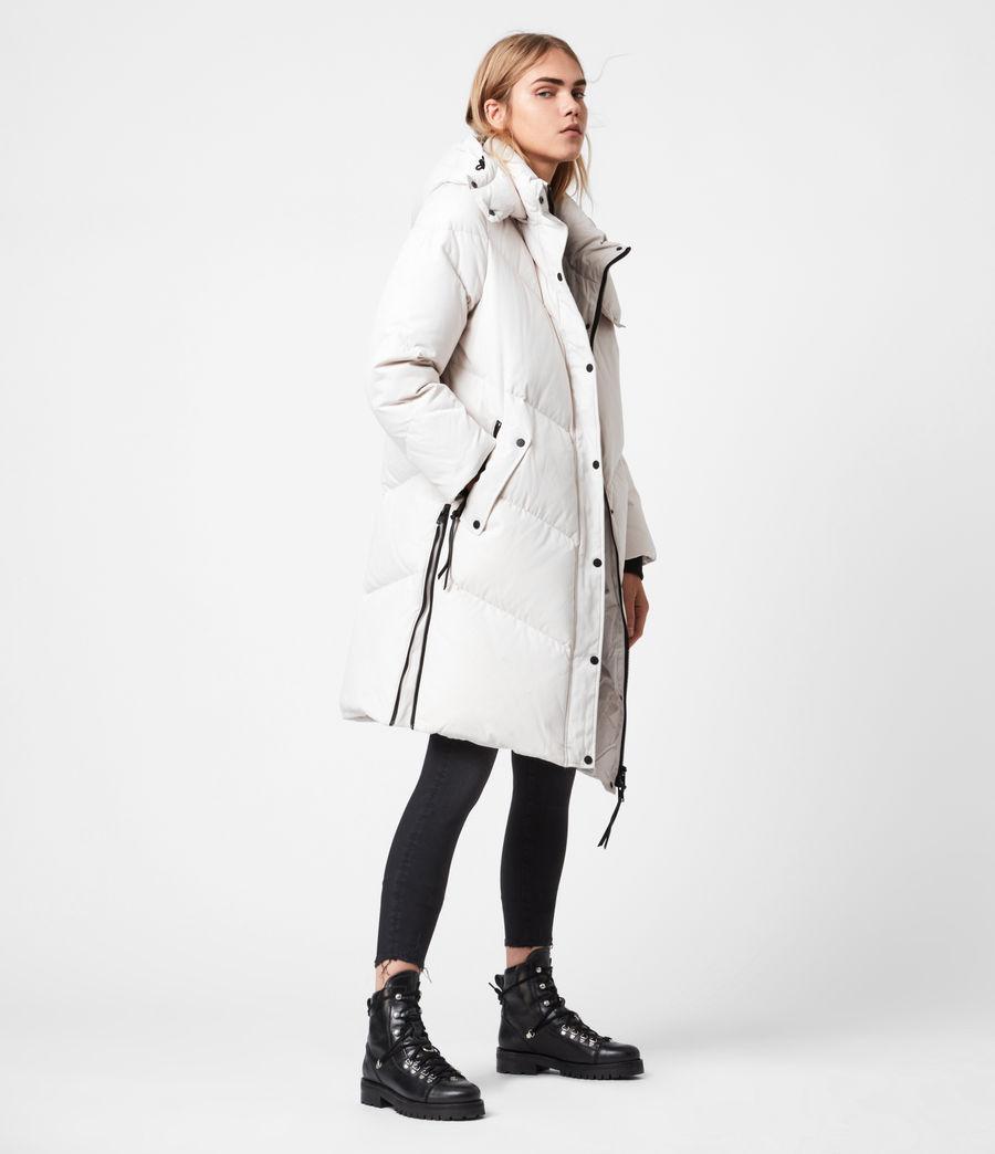 Women's Rory Puffer Coat (winter_white) - Image 1