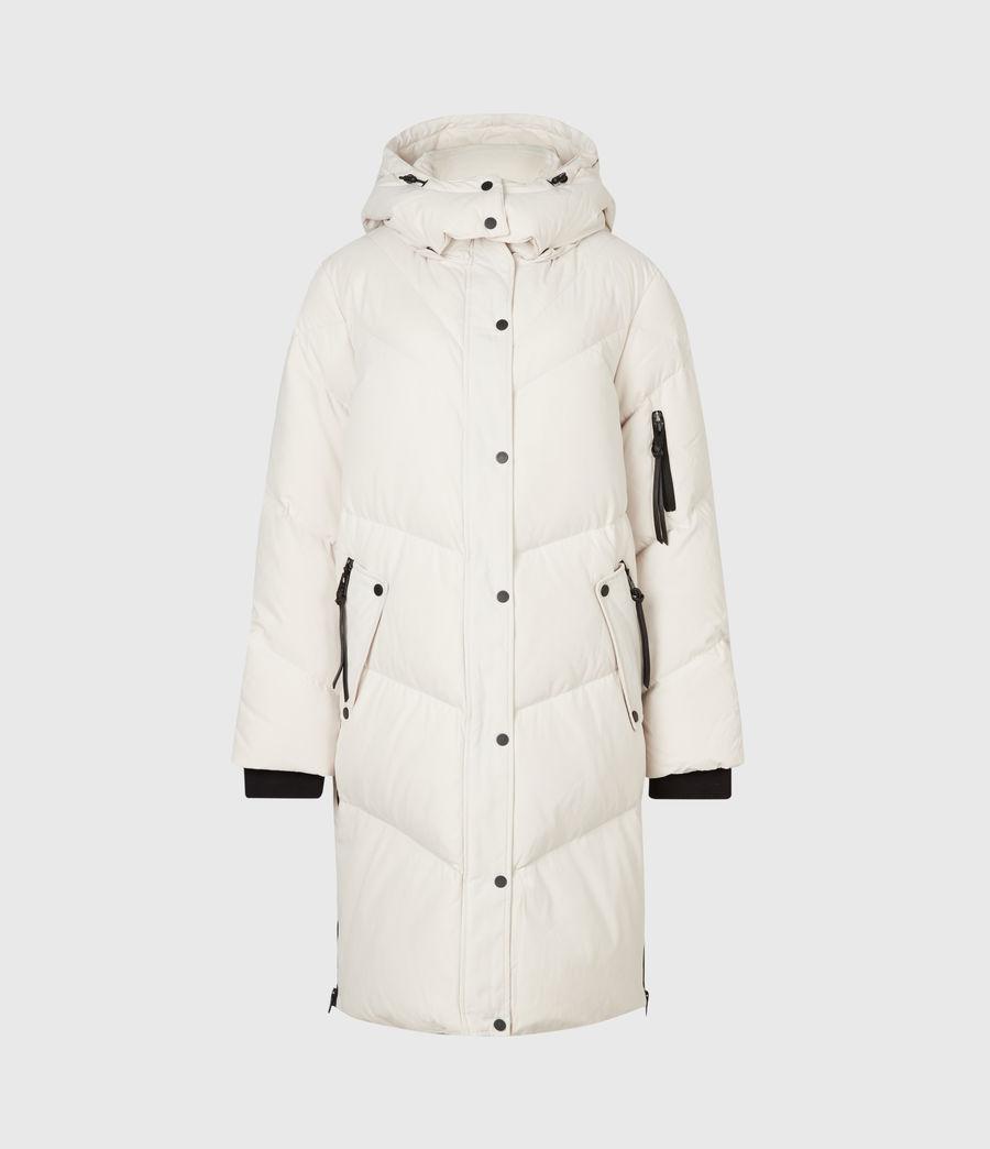 Women's Rory Puffer Coat (winter_white) - Image 2