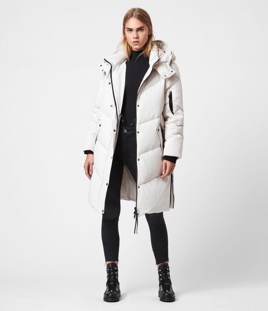 Women's Rory Puffer Coat (winter_white) - Image 4