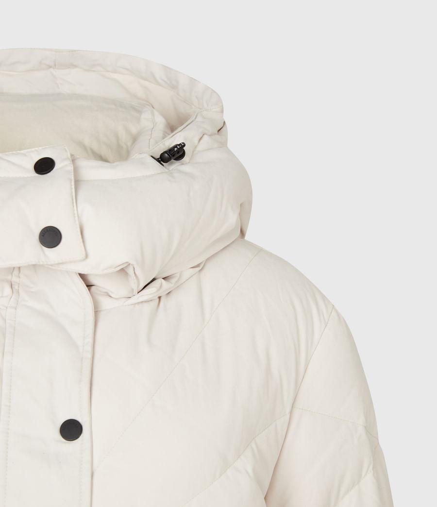 Women's Rory Puffer Coat (winter_white) - Image 5