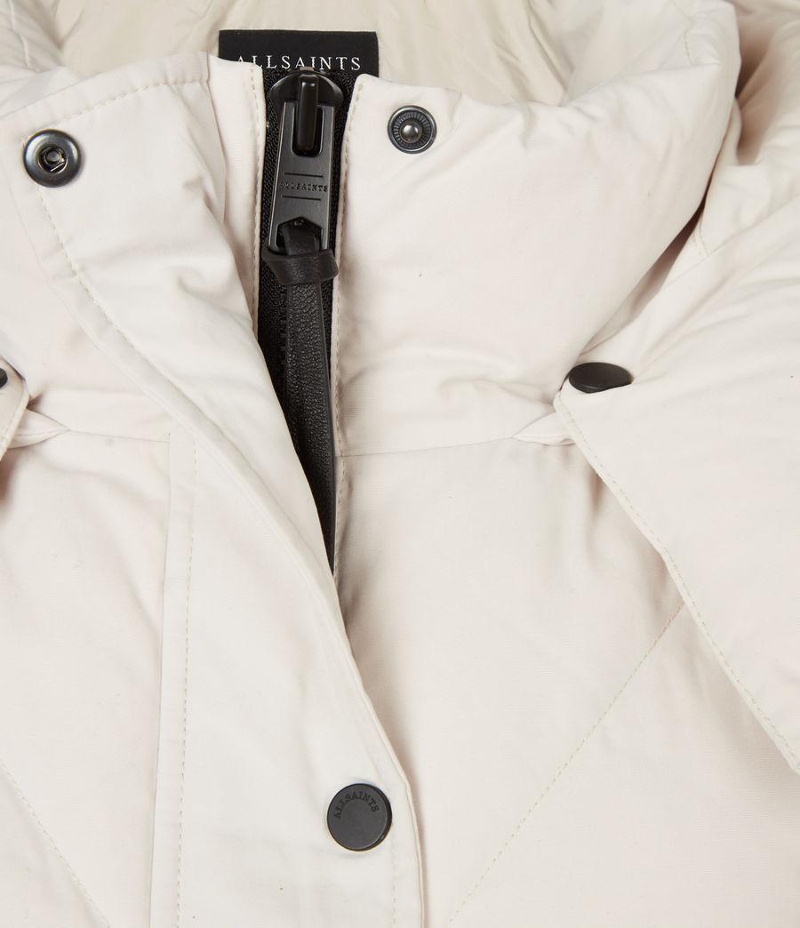 Women's Rory Puffer Coat (winter_white) - Image 6