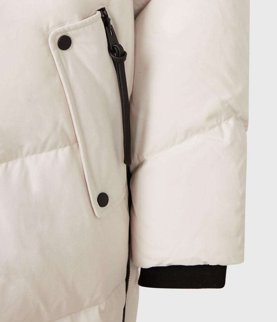 Women's Rory Puffer Coat (winter_white) - Image 7