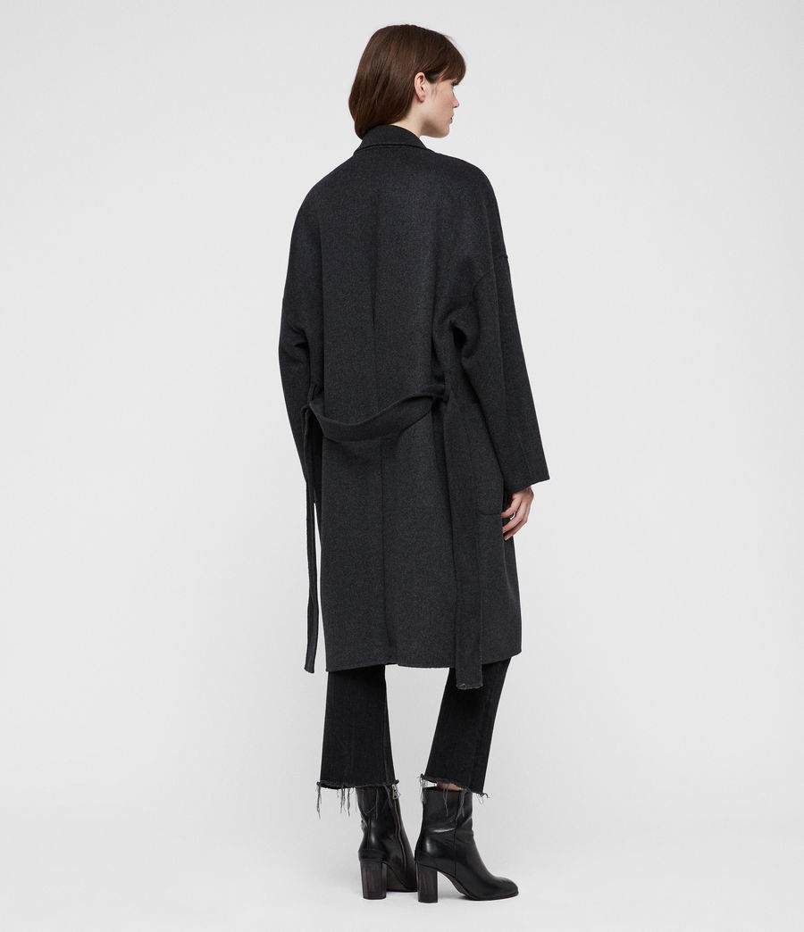 Women's Lara Coat (charcoal_grey) - Image 4