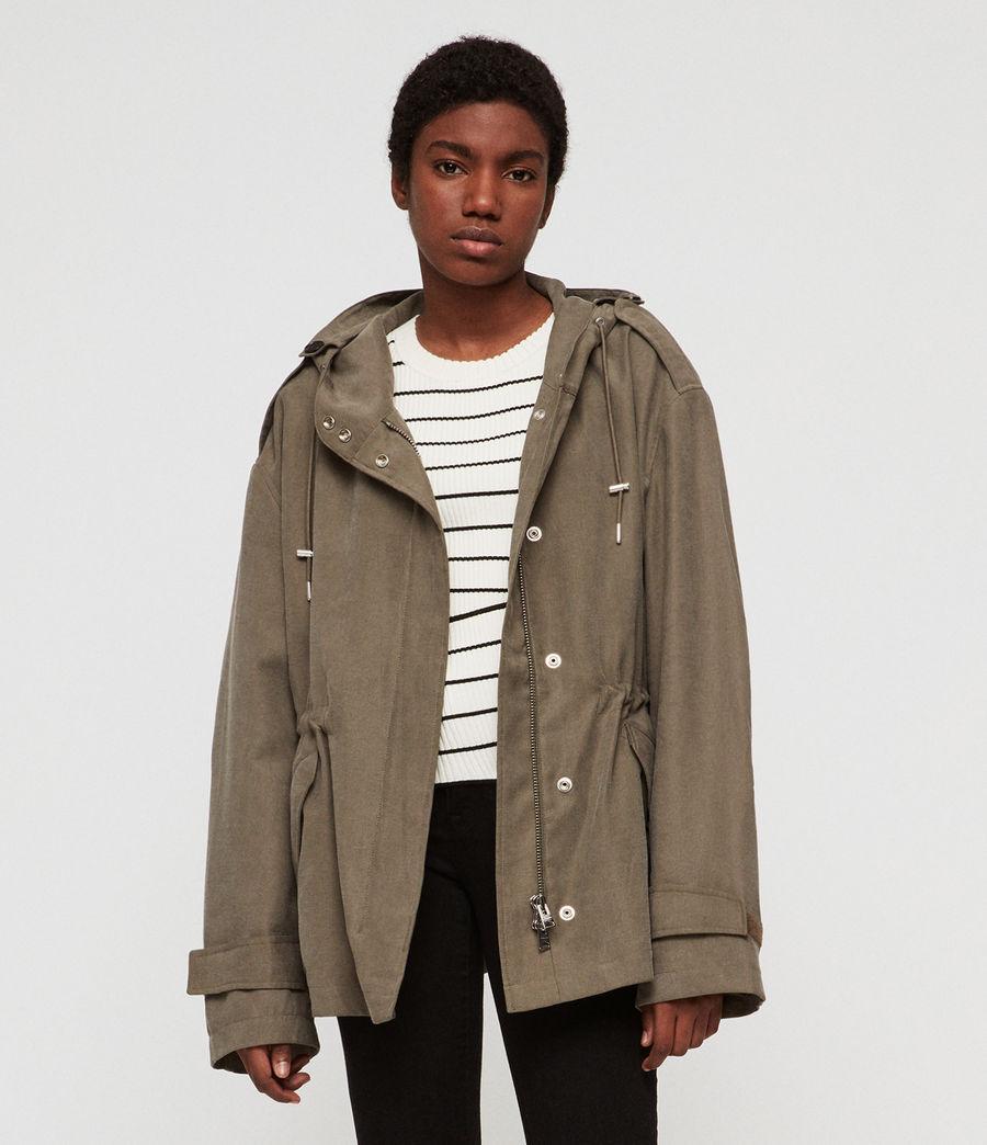Women's Kelsie Nilba Jacket (khaki) - Image 1