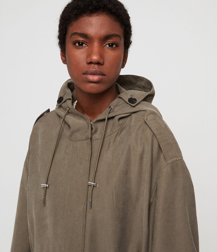 Women's Kelsie Nilba Jacket (khaki) - Image 2