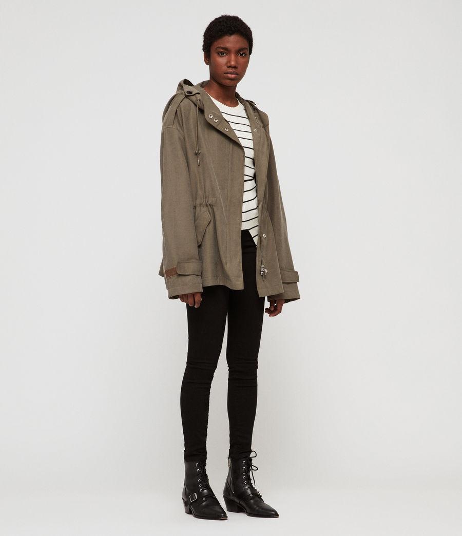 Women's Kelsie Nilba Jacket (khaki) - Image 3