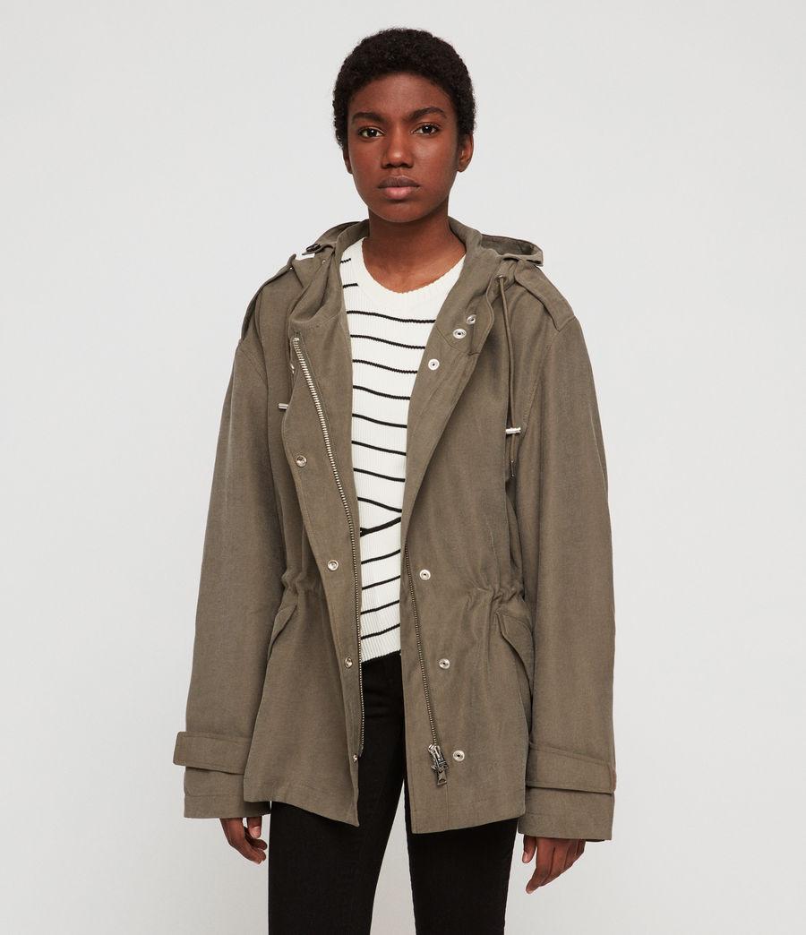Women's Kelsie Nilba Jacket (khaki) - Image 4