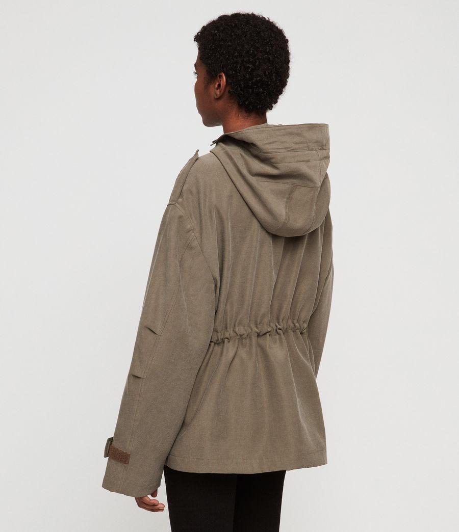 Women's Kelsie Nilba Jacket (khaki) - Image 5