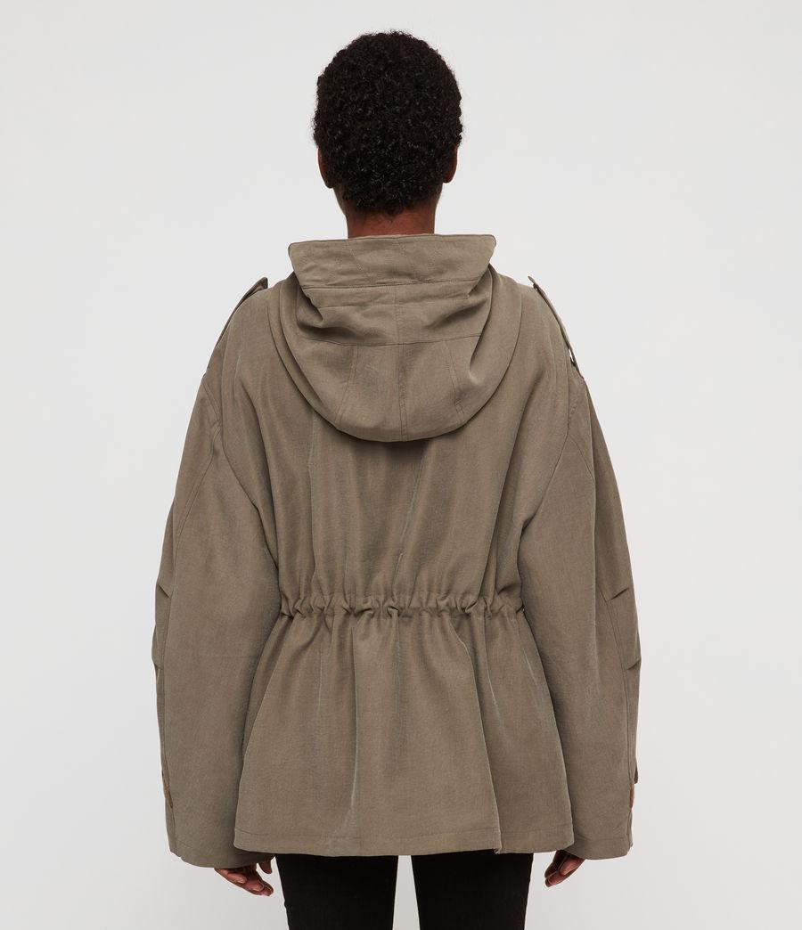Women's Kelsie Nilba Jacket (khaki) - Image 6