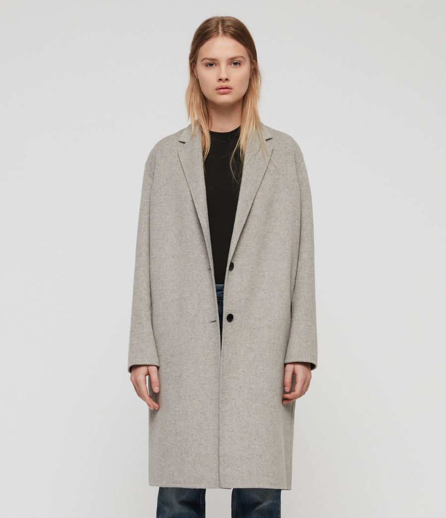 Women's Anya Coat (light_grey) - Image 1