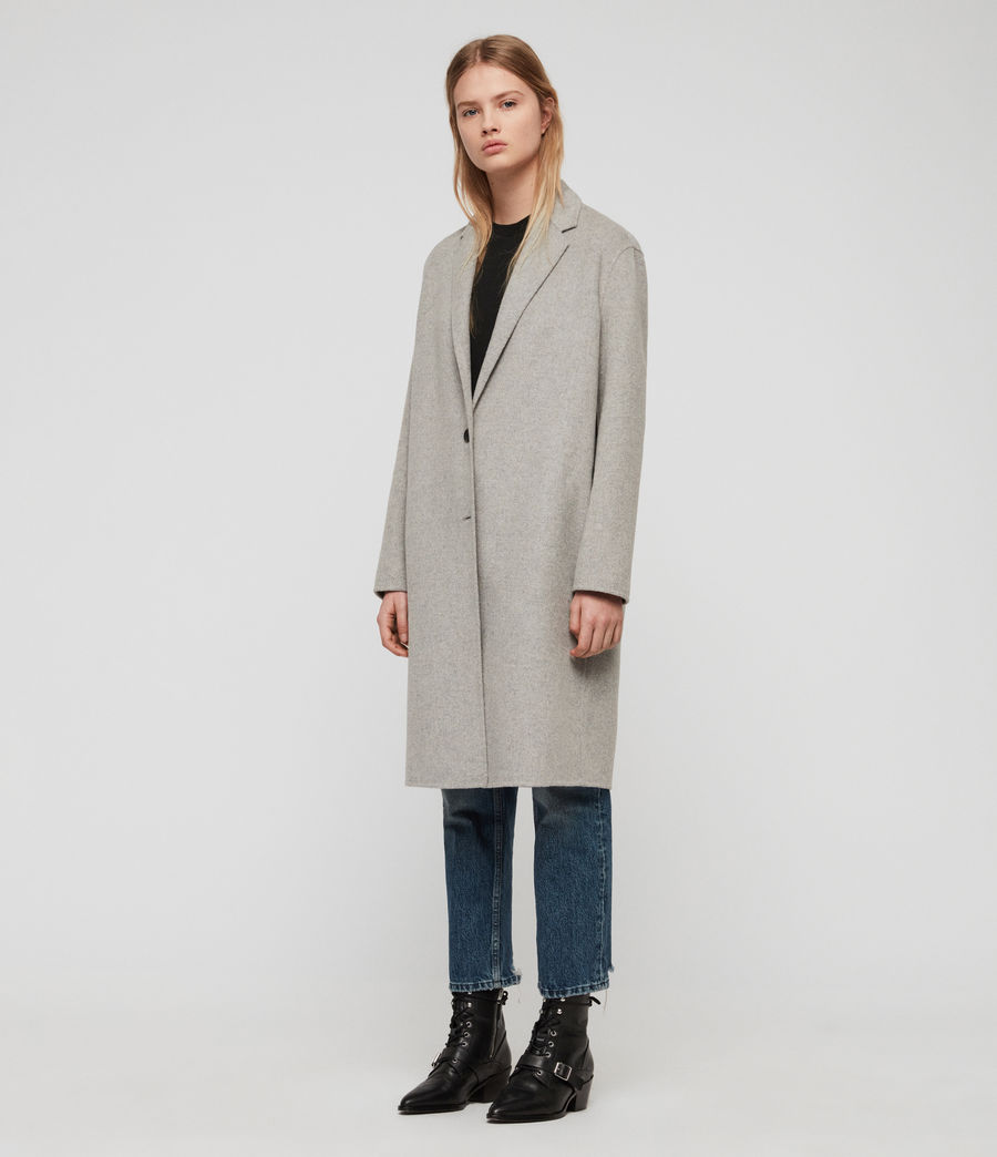 Women's Anya Coat (light_grey) - Image 3