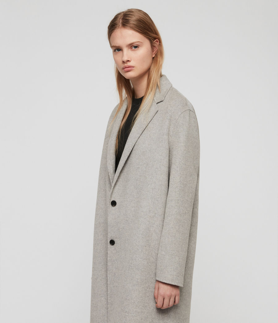 Women's Anya Coat (light_grey) - Image 4