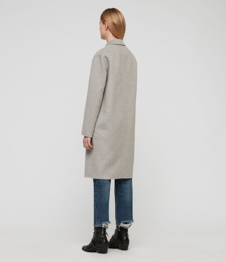 Women's Anya Coat (light_grey) - Image 5
