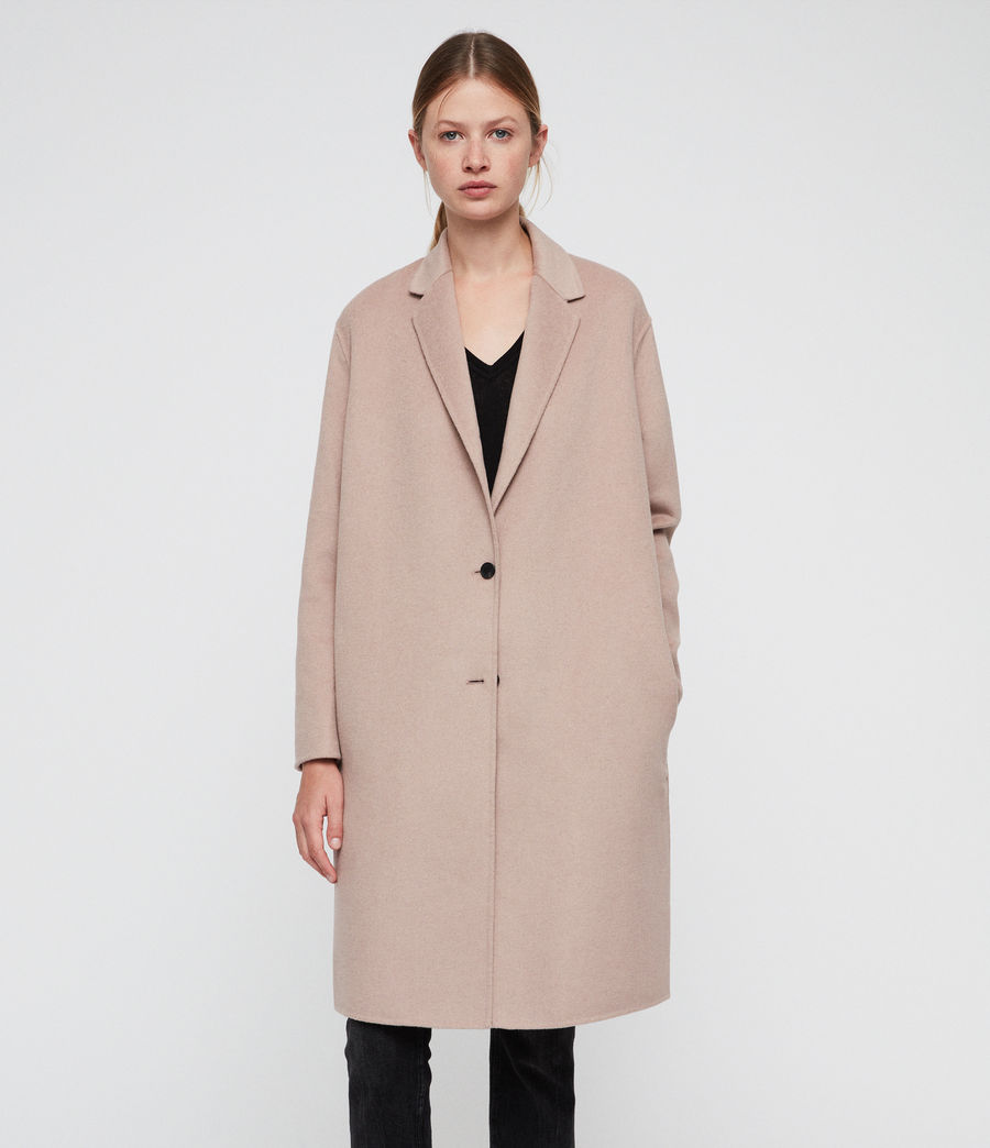 Women's Anya Coat (quartz_pink) - Image 1