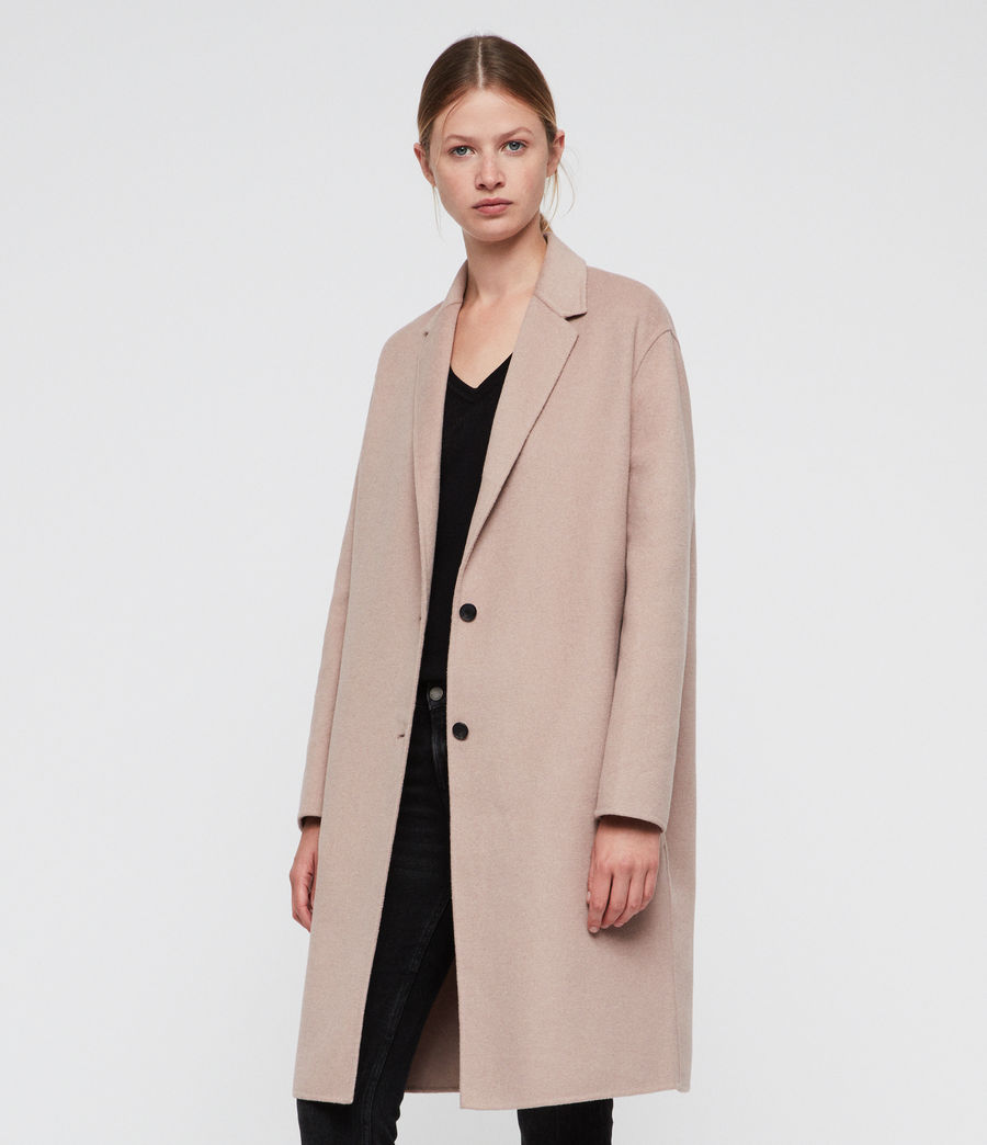 Women's Anya Coat (quartz_pink) - Image 3