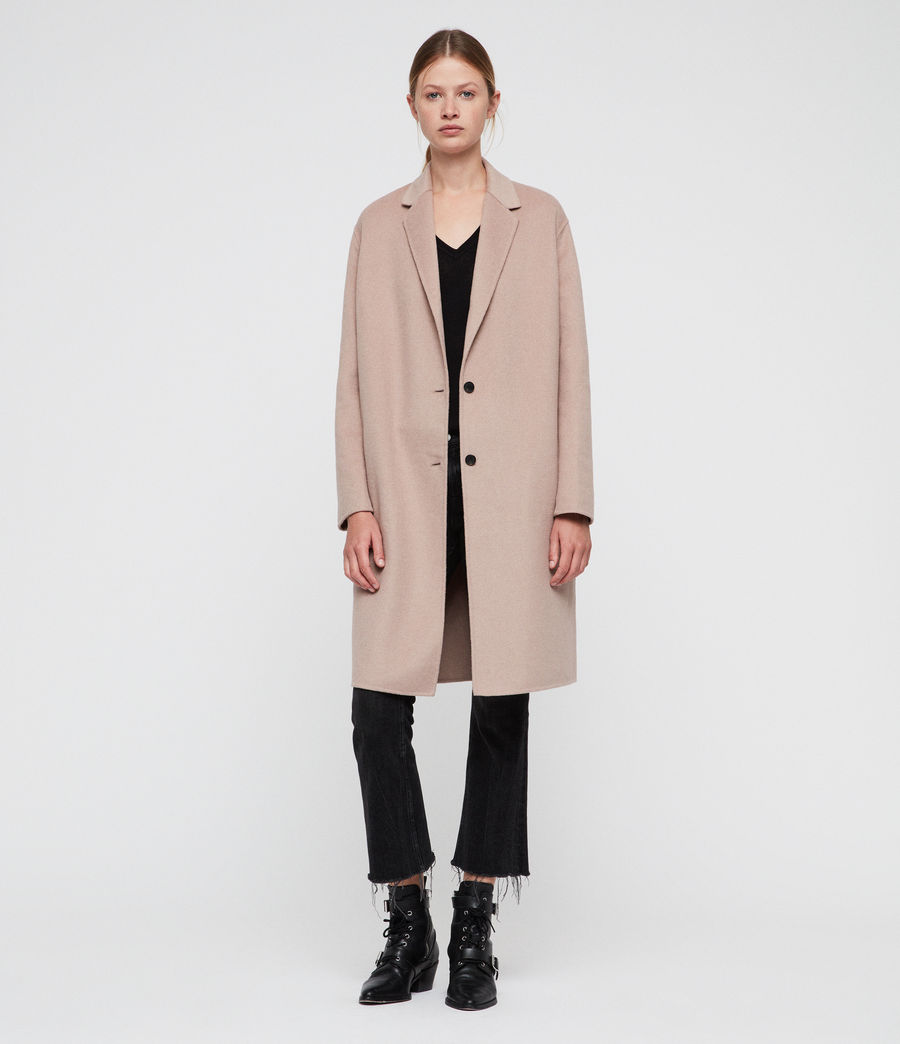 Women's Anya Coat (quartz_pink) - Image 4