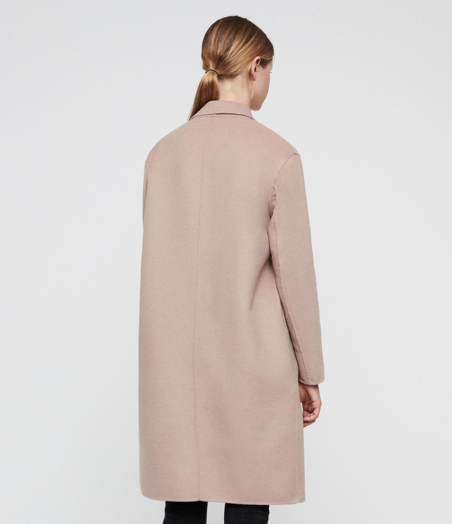Women's Anya Coat (quartz_pink) - Image 5