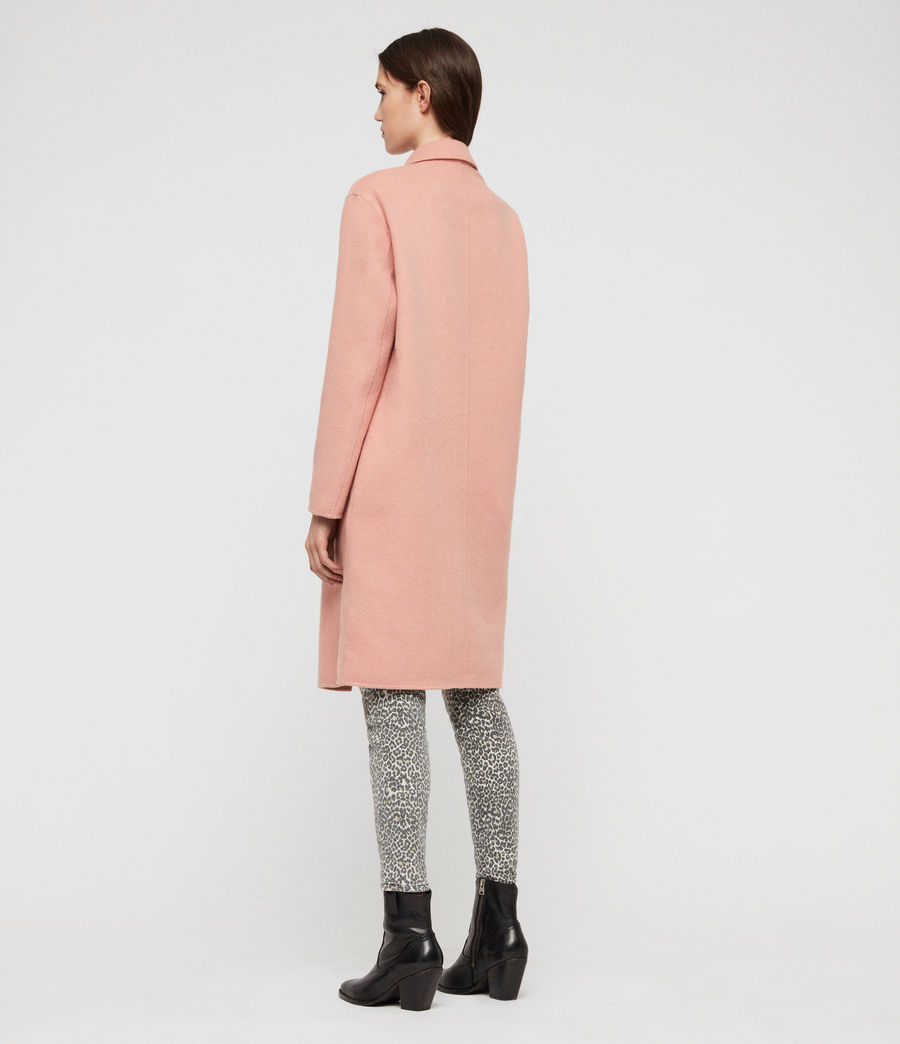 Women's Anya Coat (clay_pink) - Image 5