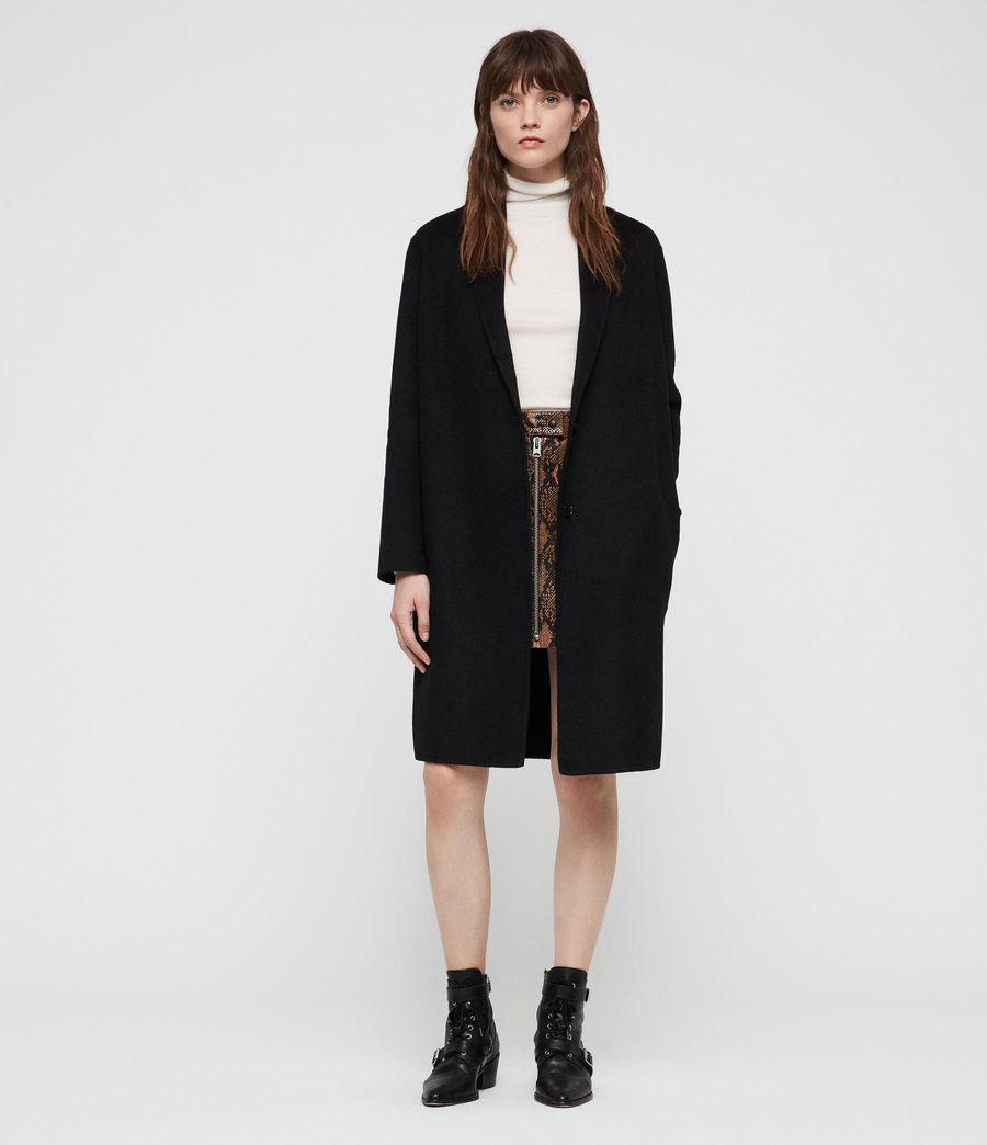 Womens Anya Coat (black) - Image 1