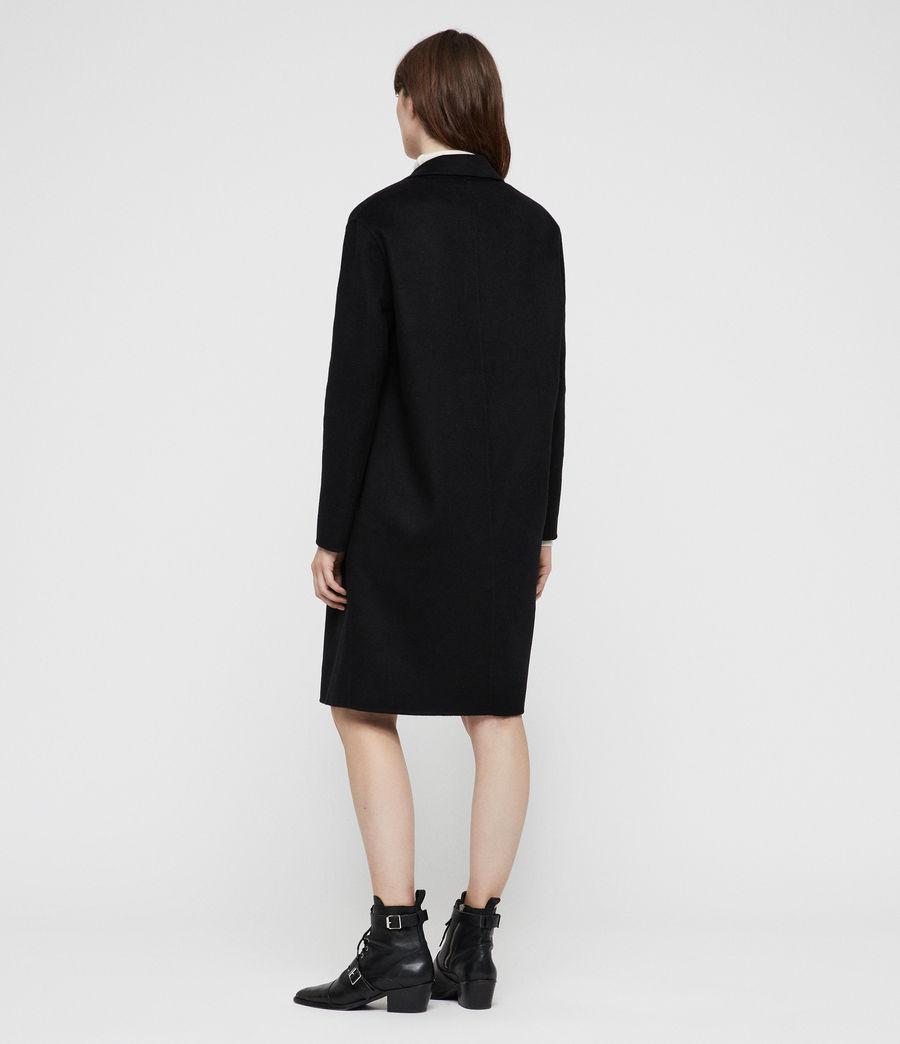 Womens Anya Coat (black) - Image 4