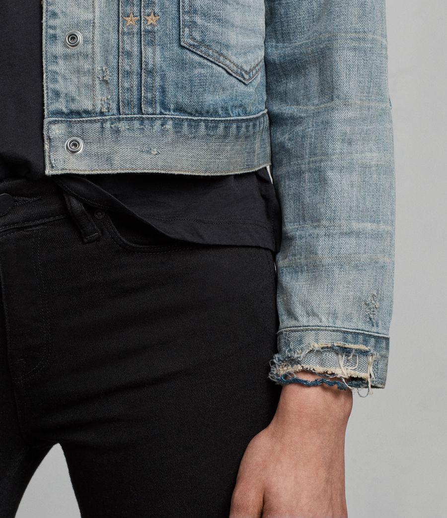 Women's Serene Denim Jacket (indigo_blue) - Image 4