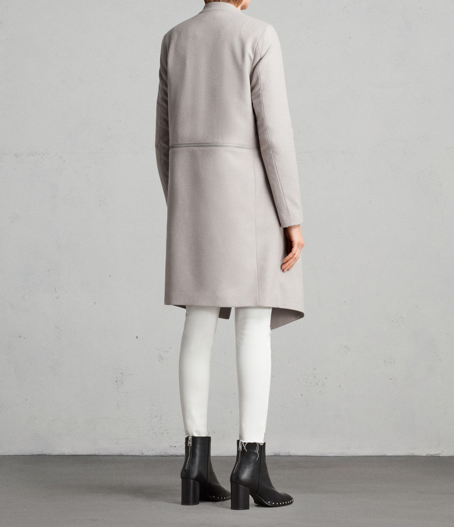 Donne Cappotto Ora Zip (moth_grey) - Image 5