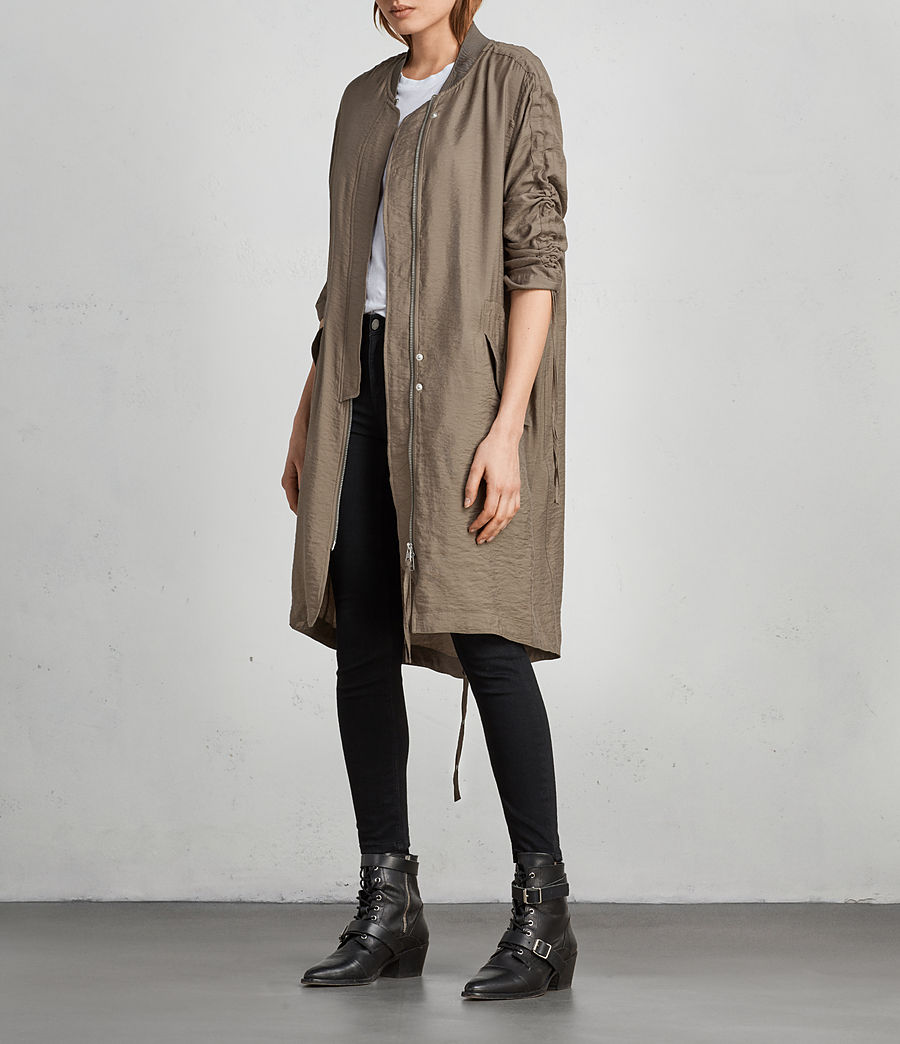 Damen Ellis Parka (fern_green) - Image 3