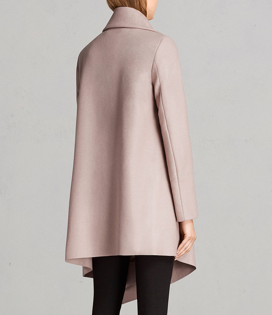 Femmes Manteau City Monument (SMOKE PINK) - Image 6