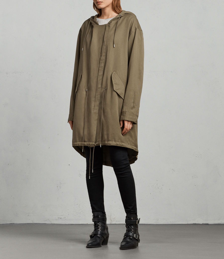 Donne Parka Cody (dark_sage_green) - Image 3