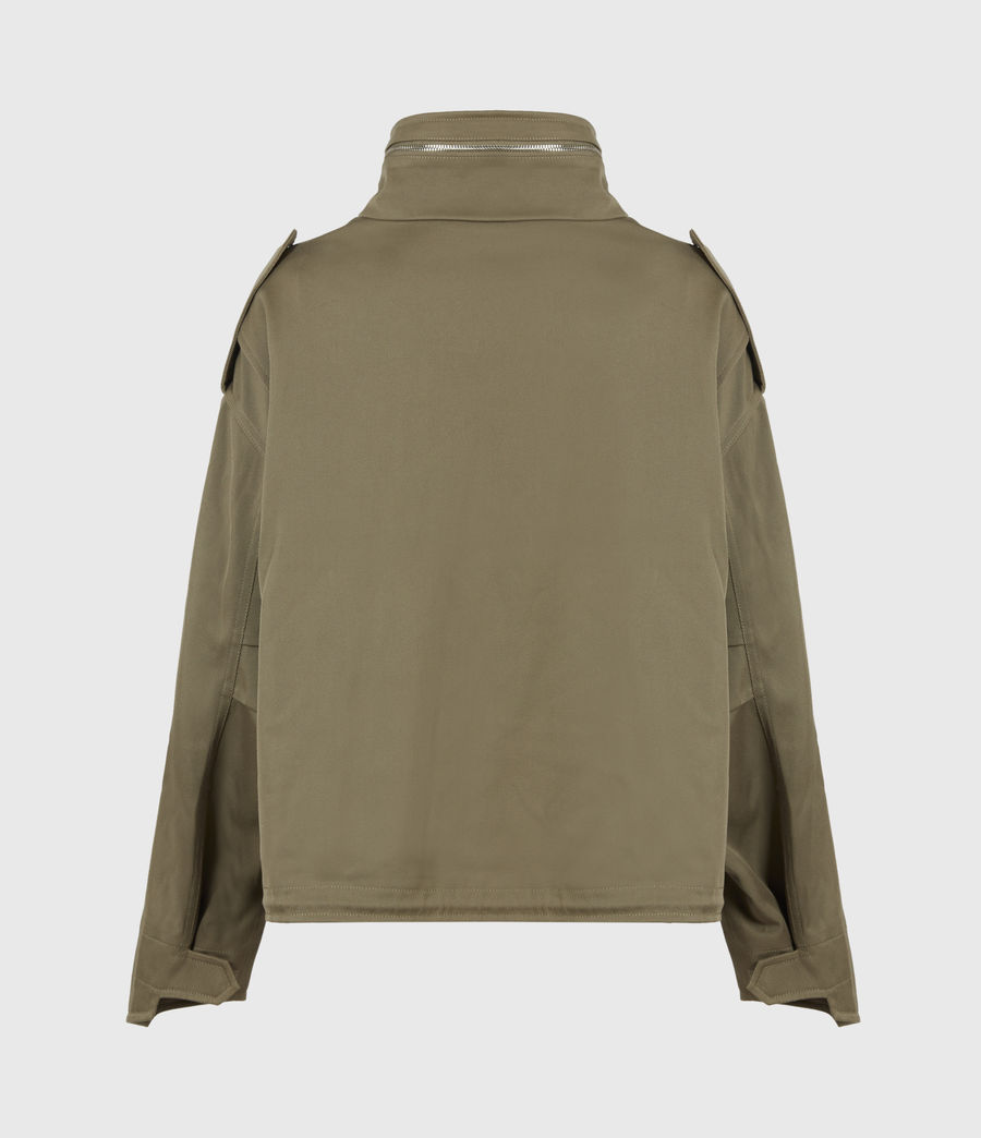Women's Amelia Military Jacket (khaki_green) - Image 3