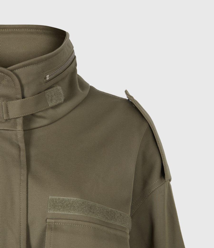 Women's Amelia Military Jacket (khaki_green) - Image 5