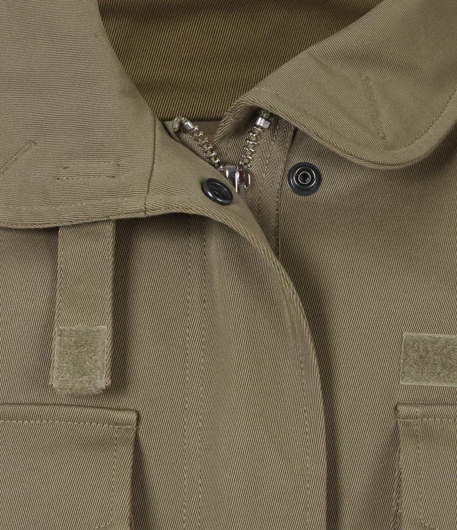 Women's Amelia Military Jacket (khaki_green) - Image 6